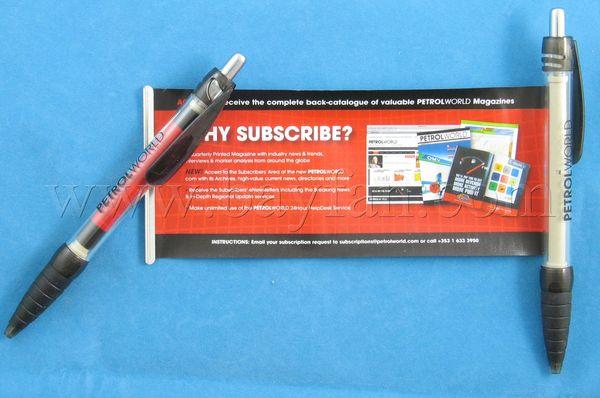 Banner Pens Custom Scroll Pens Flag Pens Pull Out